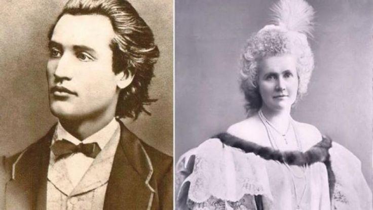 Scriitori contemporani, despărţiţi însă de o imensă prăpastie socială, Mihai Eminescu şi Regina Elisabeta a României au avut o relaţie glacială. În ciuda unei admiraţii sincere a reginei faţă de poet, Eminescu nu a vrut să frecventeze Curtea Regală, iar cei doi s-au întâlnit faţă în faţă doar de două ori.