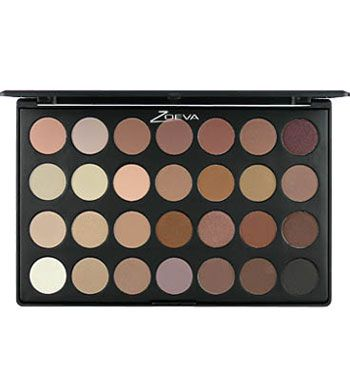 Nude Palette Zoeva... i wonder if they are as good as Mac eyeshadows