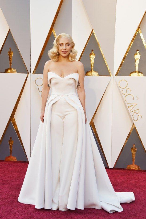 Lady Gaga - Oscar 2016 | Blog Helena Mattos