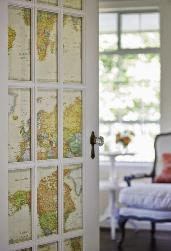 Open the door to new worlds every time you step outside your room. | 28 Inspiring Decor Ideas To Satisfy Your Wanderlust