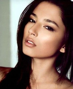 Jessica Gomes (portuguese father, chinese mother) Australian celebrity Jessica Gomes loves http://www.kangafashion.com