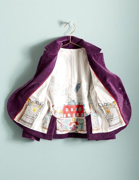 Velvet Wonka Jacket - MiniBoden and Roald Dahl