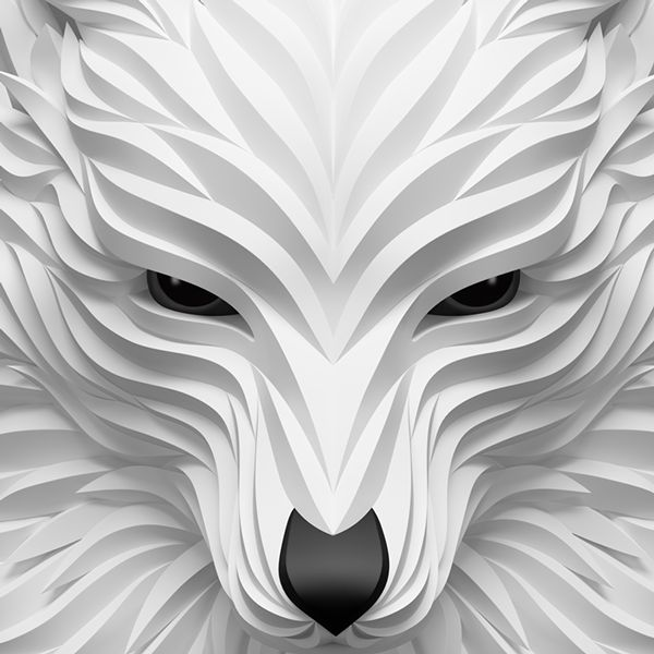 Best Masks Images On Pinterest Animal Masks Paper Mask And - Fascinating 3d renderings of people and animals by maxim shkret