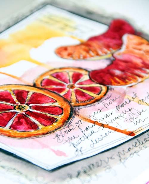 Creative Art Journaling - Alisa burke