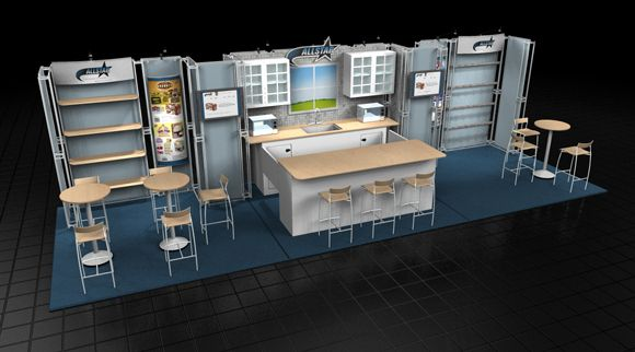 Steps to make a Presentation Booth | Exhibitors Service Network, Inc.