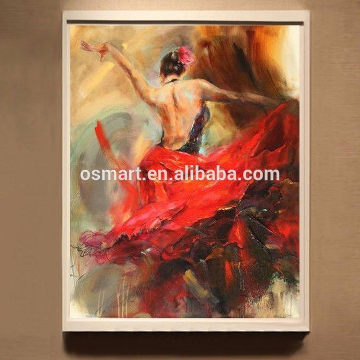 Üreme % 100% El Yapımı Flamenko İspanyol Kadın Isı Dansçı Flamenko Dans Tuval Üzerine Yağlıboya Tablolar Dancing Yağ-resim-Resim ve Kaligrafi-ürün Kimliği:60294423026-turkish.alibaba.com