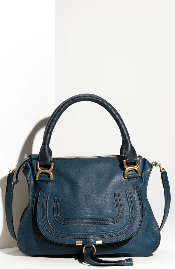 Chlo¨¦, Marcie Small Satchel, Teal, $1795 | I don\u0026#39;t have a blue bag ...