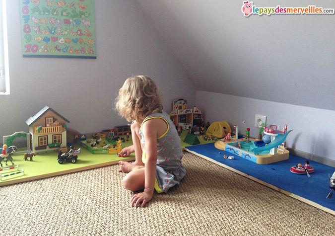 aménagement rangement playmobil Plus