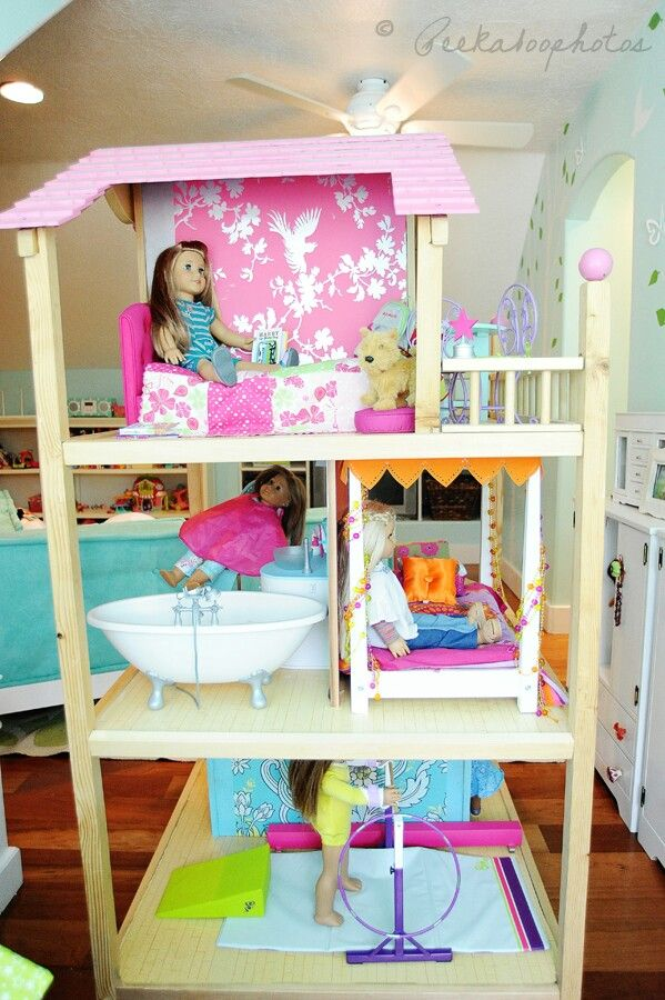 59 Best Images About DIY Dollhouses For American Girl Doll