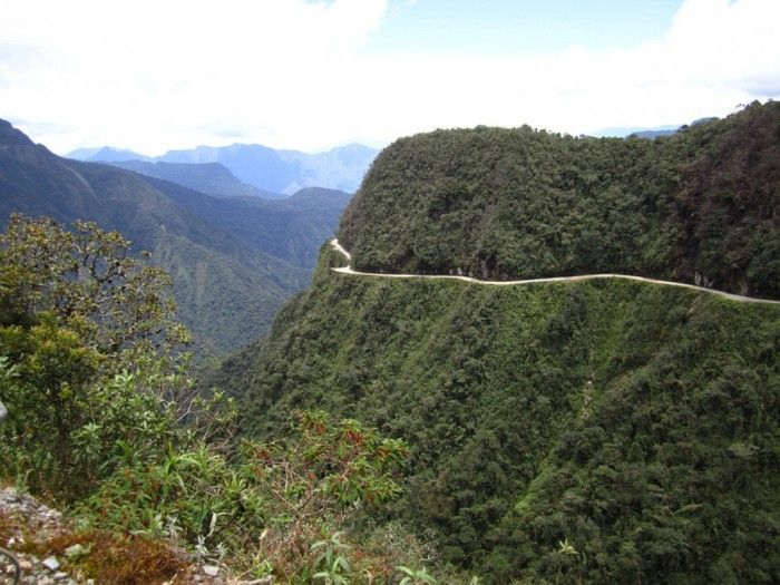 55 Most Fascinating & Weird Roads Like These Before? ... Yungas Road, Bolivia └▶ └▶ http://www.pouted.com/?p=31669