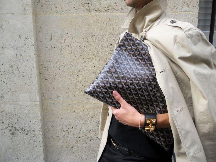 Classic Trench + Goyard + Hermès