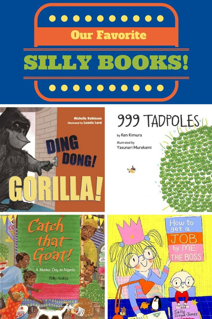 Our favorite totally silly and funny children's picture books
