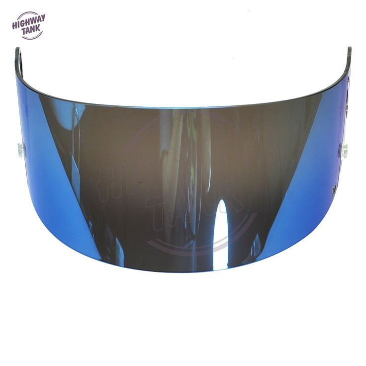 Blue Motorcycle Full Face Helmet Visor Lens Case for SHARK RS2 RSR 2 Carbon RSR 2 V+ RSX VZ32