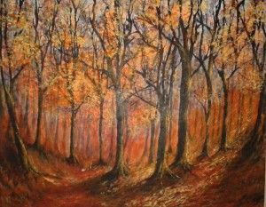 'Autumn Glow' by Eira Williams