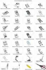 Resultado de imagem para tipos de calcadores de maquina de costura