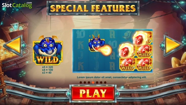 Screen4. Treasure Mine (Video Slot from Red Tiger)
