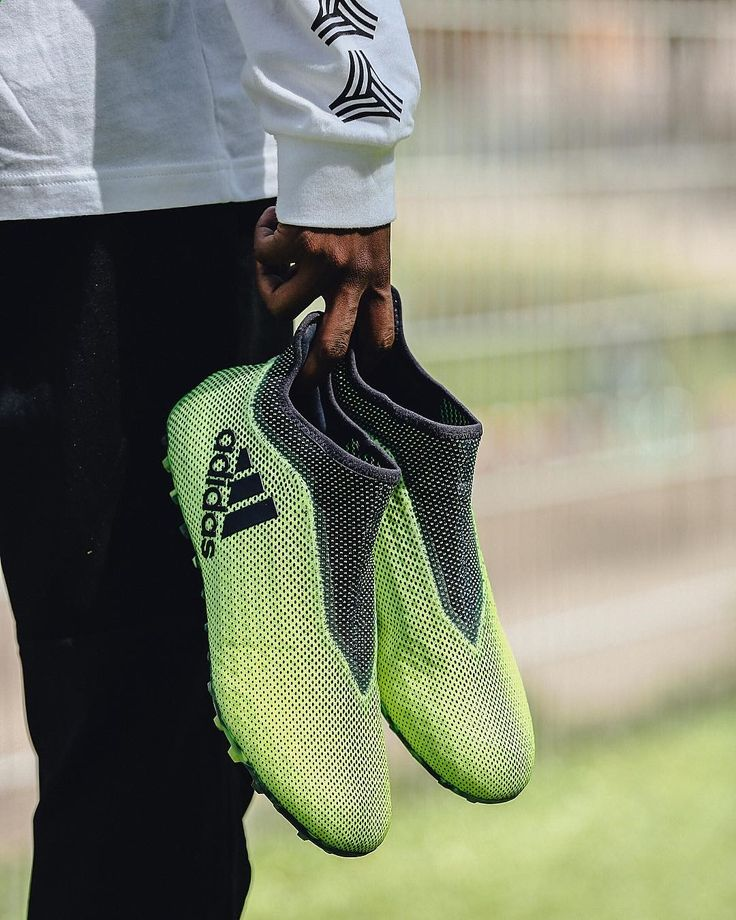 """400.8k Likes, 652 Comments - adidas Football (Soccer) (@adidasfootball) on Instagram: """"Electrify the cage. ⚡️ The Ocean Storm #X17 for the cage. Available now. #HereToCreate -- #Football…"""""""