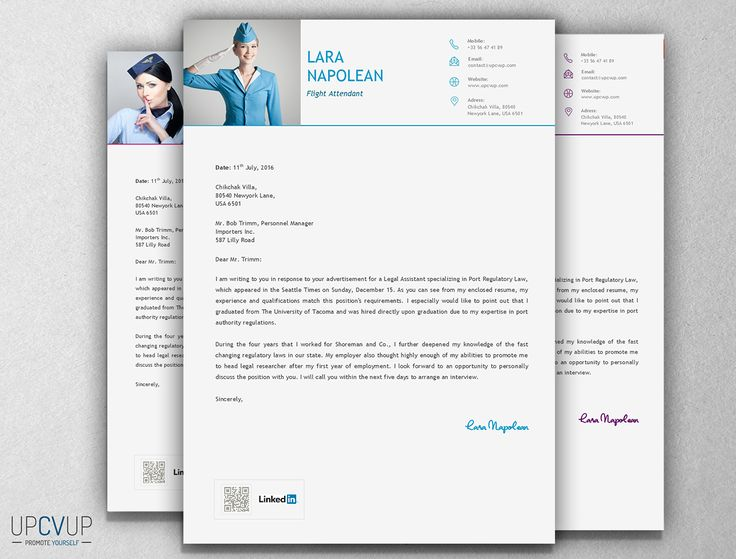 9 best Cabin Crew / Flight Attendant résumé templates - CV Word ...