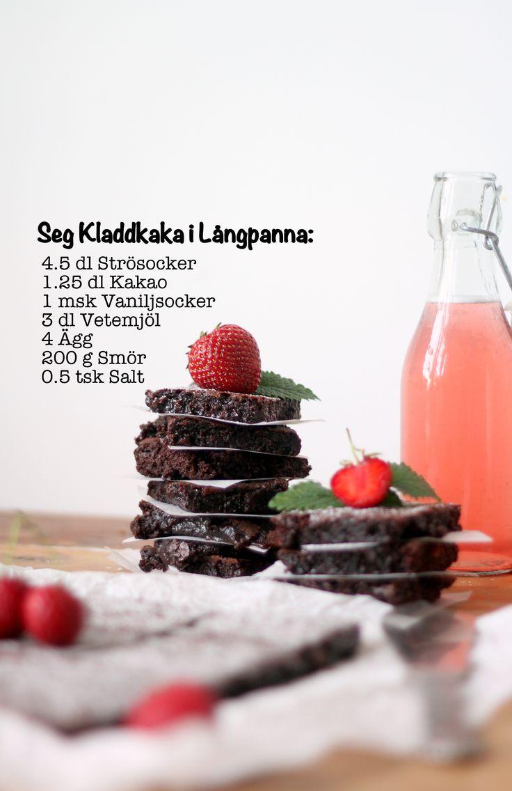 Chocolaty Chocolate Sheet Cake - Seg Kladdkaka i Långpanna