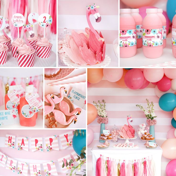 224 Best Baby Shower Flamingo Theme Images On Pinterest