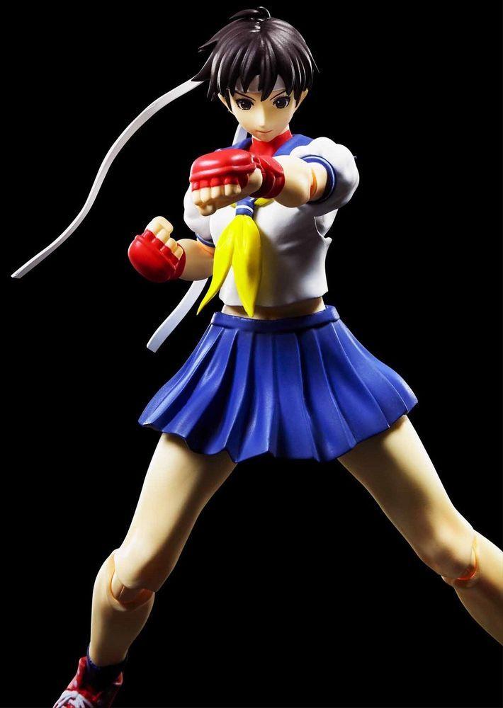 NUEVA Sakura Kasugano Street Fighter Figura SH Figuarts