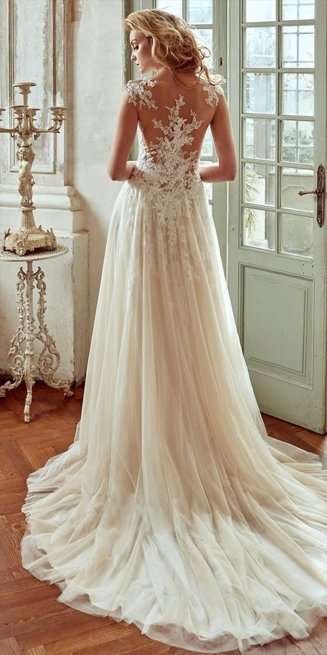 The wedding dress is the most important thing that every bride worries about. We all want to look special on this day, so we have an incredibly romantic and filled with sophisticated, fashion forward detailing, Nicole Spose 2017 bridal collection for you today. #wedding #dresses #bridetobe