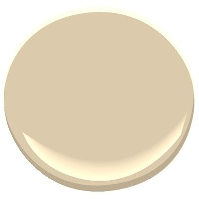 Benjamin Moore Putnam Ivory, nice creamy neutral, not too yellow beige, warm and easy: