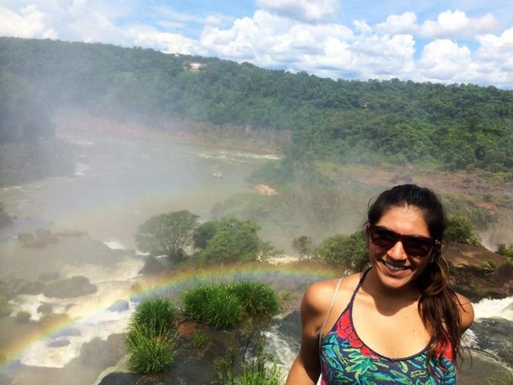 Gator Emilia visits Brazil during a break from studying abroad in Chile.