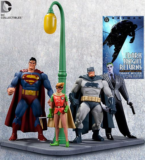 Action Figures de Batman: O Cavaleiro das Trevas de Frank Miller: Batman, Robin, Superman e Coringa « Blog de Brinquedo