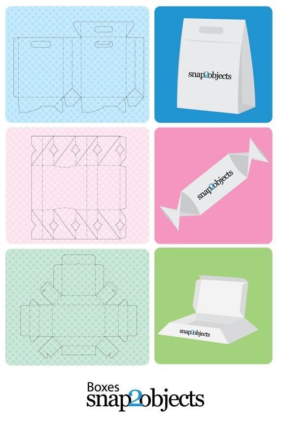 Bolsas y cajas de packaging para merchandizing