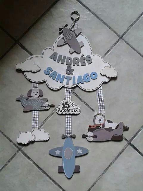 #Letrero de madera pintado a mano para #hospital #bebé hecho por Muñecas de Papel visitanos en: www.facebook.com/Munecas.de.Papel.Puebla