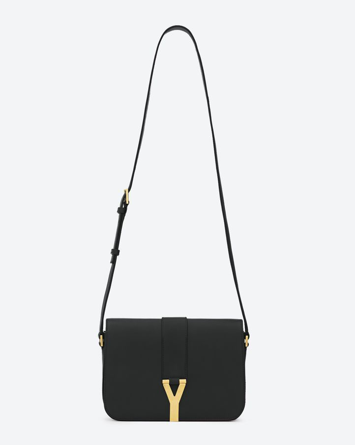 Saint Laurent Classic Y Satchel In Black Leather | ysl.com- my ...