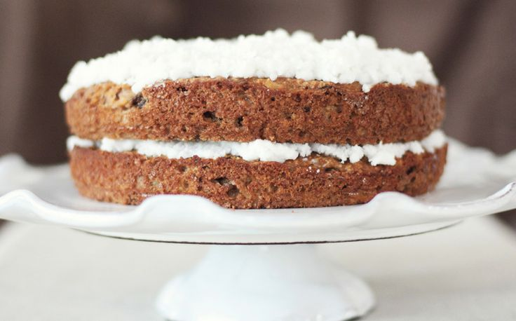 Spiced Carrot Cake with Coconut Cream - grain, gluten and dairyfree ...