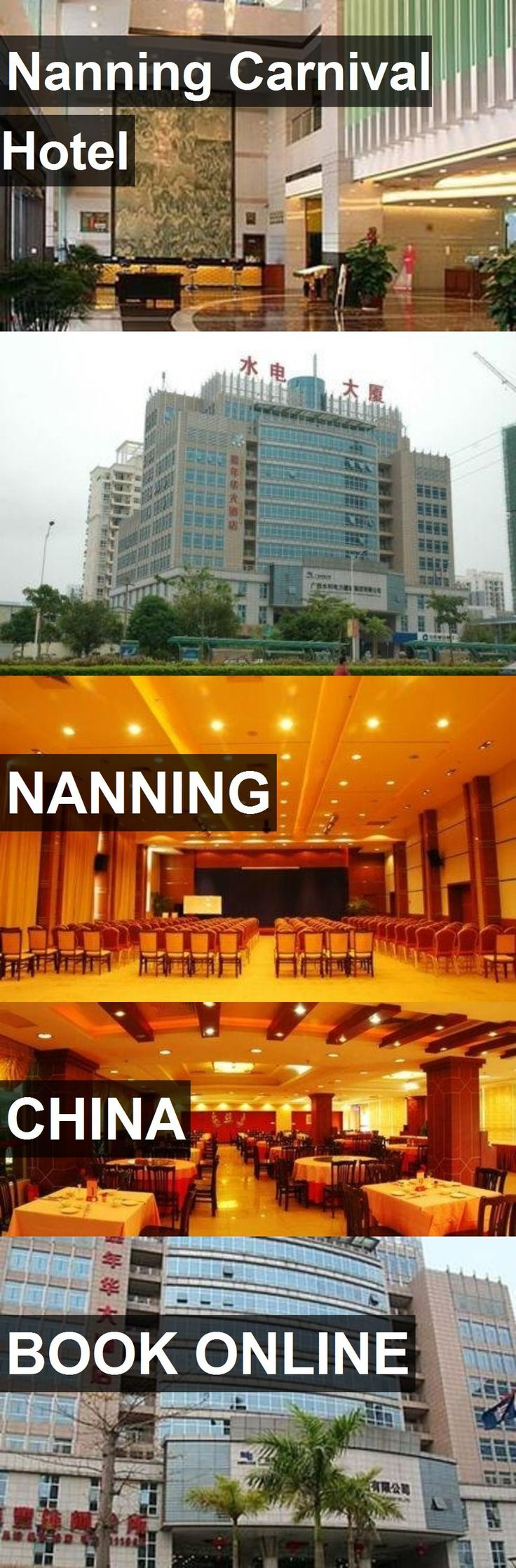 Nanning Carnival Hotel in Nanning, China. For more information, photos, reviews and best prices please follow the link. #China #Nanning #travel #vacation #hotel