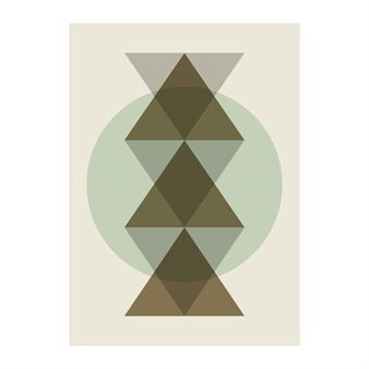 The stylish Totem poster comes from the Danish brand Ferm Living and is made of fine uncoated recycled paper. The poster has a trendy design…