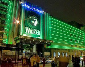 Wicked, The Apollo Victoria Theatre, London