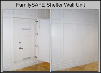 Hidden safe room home building ideas pinterest safe for Hidden storm shelter