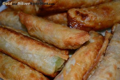 Gold and Silver Sparkles ♥ ♥: Lumpia