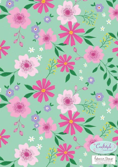 Flourish Papermaker pad 1 by Rebecca Stoner