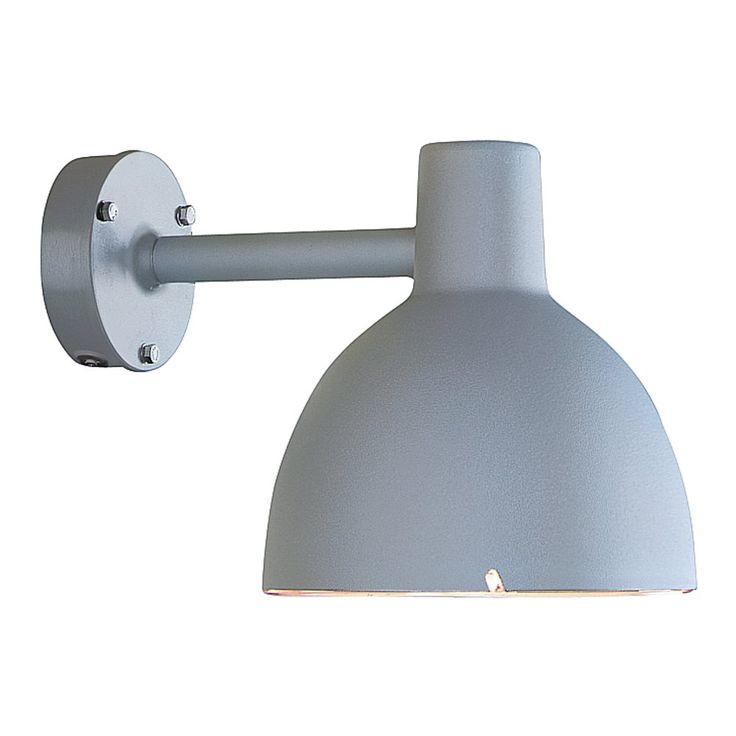 Toldbod 155 Vägg Aluminium Utomhusbelysning | Louis Poulsen | Länna Möbler | Handla online