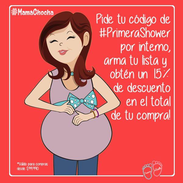 Mira mamá, en Primera Huella puedes hacer el pedido completo para mi Baby Shower, y te dan 15% de descuento EN EL TOTAL! Dile a tus amigas :D www.primerahuella.cl