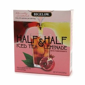 I'm learning all about Bigelow Half Iced Tea