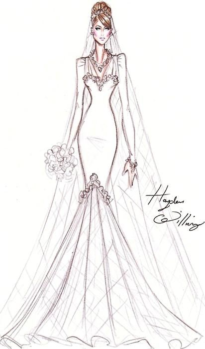 Hayden Williams for Catherine Duchess of Cambridge - Designed Jan 25th 2011