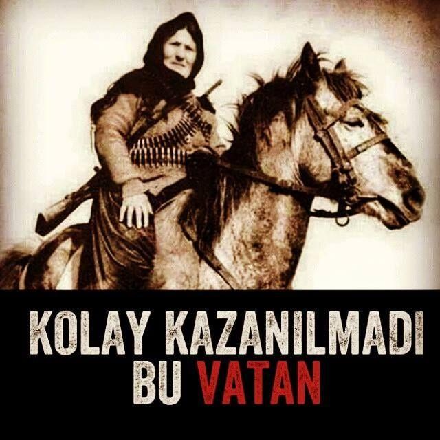 Kurtuluş Savaşında TÜRK Kadını