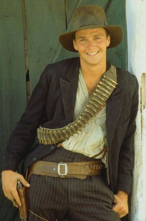 Young Indiana Jones...its ok cause he was really like 27