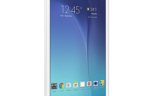 Samsung Galaxy Tab E Tablette tactile 9,6″ Blanc (8 Go, Android, 1 port Micro USB 2.0, Wi-Fi): Ecran tactile 9,6 pouces - 1280x800 Stockage…