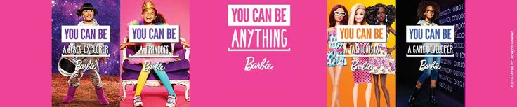 Barbie You Can Be Anything Banner