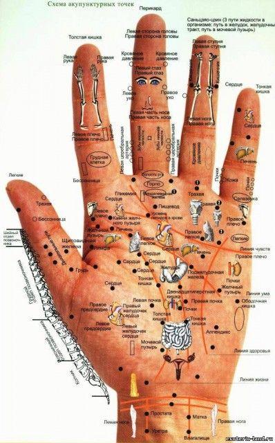 Диагностика болезней по кистям рук и ладоням