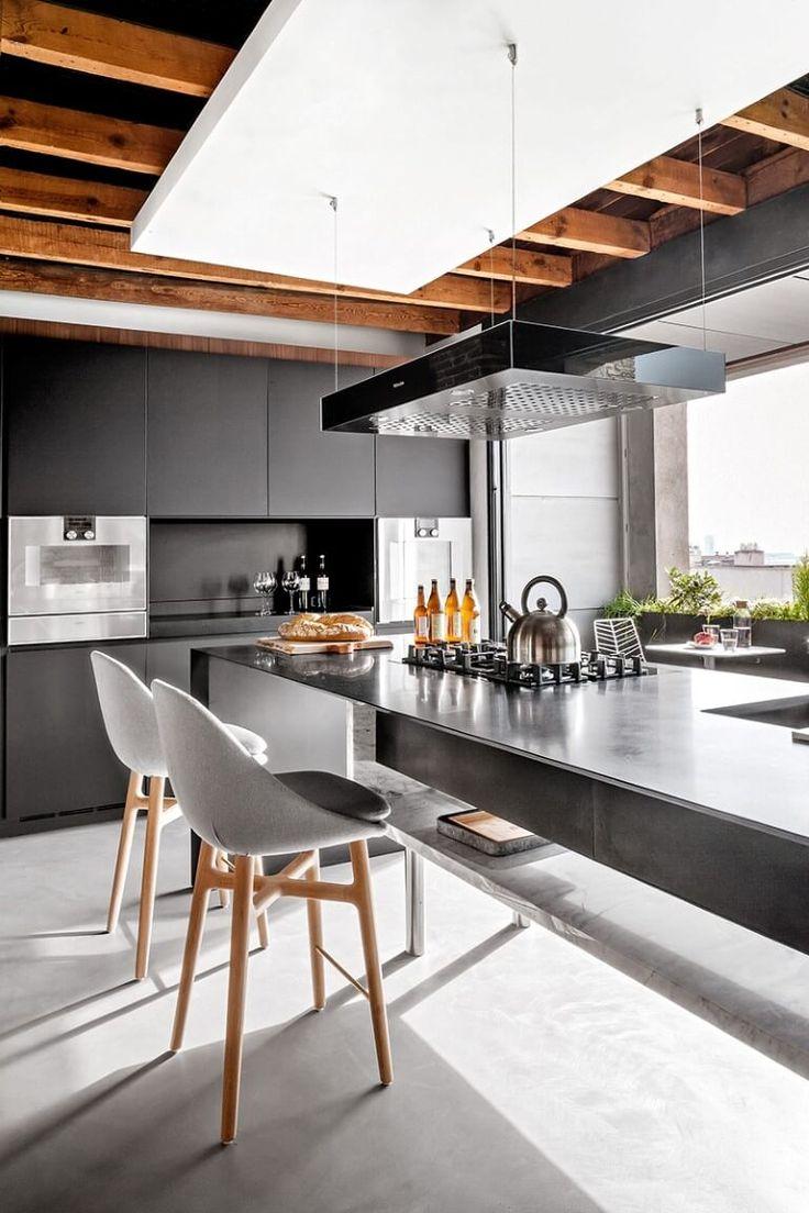 Loft madrid concrete keuken cmi lofts by cmi - Lofts en madrid ...