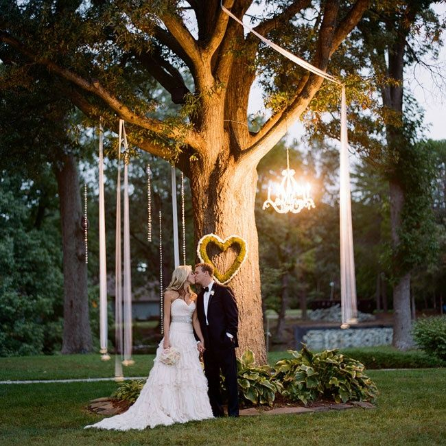 Wedding Altar Lighting: 105 Best Images About Outdoor Wedding Lighting On Pinterest